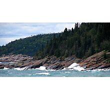 Lake Superior Coastline Photographic Print