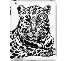 Amur leopard ink sketch iPad Case/Skin