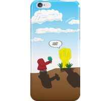 A Confused Gesture iPhone Case/Skin