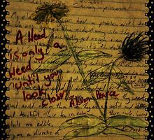 Thoughts Upon the Dandelion by Alison Pearce