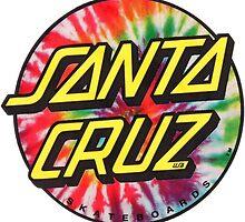 Santa Cruz sticker by PatrickNewton