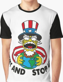 Try us Graphic T-Shirt