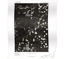 USGS Topo Map Washington State WA Spirit Lake SE 243901 1975 24000 Poster
