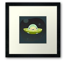 Spacester Framed Print