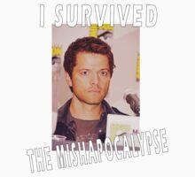I survived the MISHAPOCALYPSE One Piece - Short Sleeve