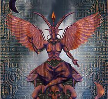 the Baphomet 001 by Karl David Hill