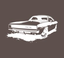 Charger Stencil - White by ghost650