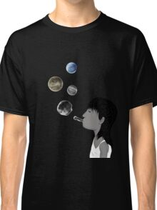 Blowing planets Classic T-Shirt