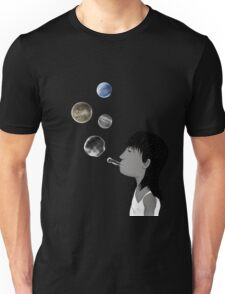 Blowing planets T-Shirt