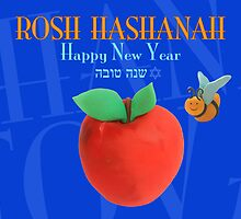 Happy New Year - Rosh Hashanah by curlyorli