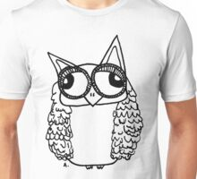 Owl number 2 Unisex T-Shirt