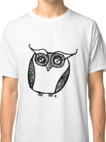Owl number 16 Classic T-Shirt