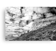 Christies Beach Cliffs Canvas Print