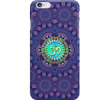 Purple New Age Golden Om iPhone & iPod Case  iPhone Case/Skin