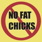 No fat chicks by Collinski