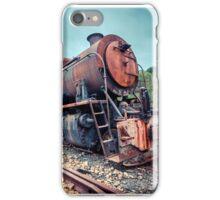 Steam Engine Rusting iPhone Case/Skin