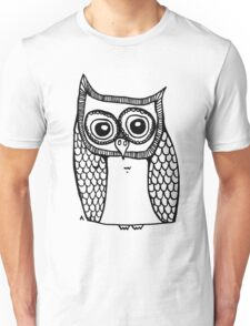 Owl number 10 Unisex T-Shirt