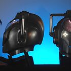 Doctor Who Cybermen Heads by ChrisBalcombe
