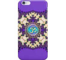 Purple Lace New Age Golden Om (Sanskrit Aum) iPhone & iPod Case iPhone Case/Skin