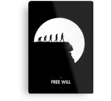 99 steps of progress - Free will Metal Print