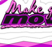 YOUR MOVE - Purple Sticker