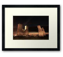 Reculver by night Framed Print