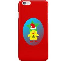 ★㋡ټHipHop Santa Chicken iPhone & iPod Cases㋡★ iPhone Case/Skin