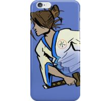 samurai ninja water  iPhone Case/Skin