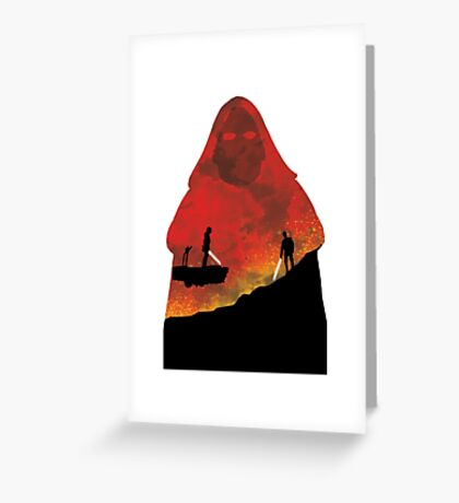 Revenge of the Sith Greeting Card
