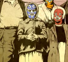 ''Luchadores Have Families Too'' Sticker