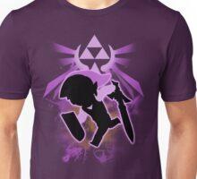 Super Smash Bros. Purple Toon Link Silhouette Unisex T-Shirt