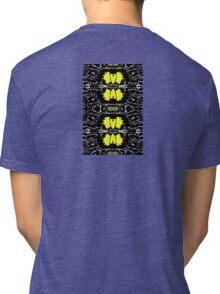 Yellow Mirror Tri-blend T-Shirt