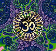 Batik Lace Om Shanti iPhone & iPod Case by webgrrl