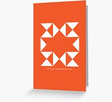 Design 184 Greeting Card