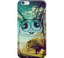 Yet another rabbit on your phone iPhone Case/Skin