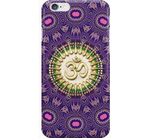 Purple Pink Golden OM iPhone + iPod Touch Case iPhone Case/Skin