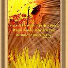 Isaiah 26:3 by DreamCatcher/ Kyrah Barbette L Hale