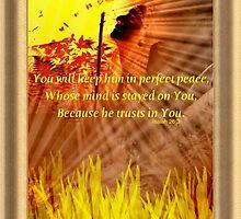 Isaiah 26:3 by DreamCatcher/ Kyrah