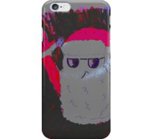 Christmas - the pink Santa Claus iPhone Case/Skin