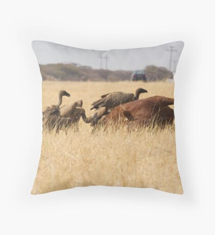 Botswana Throw Pillow