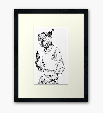 ''Yarn Power'' Framed Print