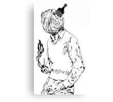 ''Yarn Power'' Canvas Print