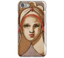 Decorative Woman Motif iPHONE Case iPhone Case/Skin