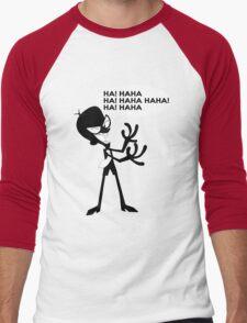 Mandark Men's Baseball ¾ T-Shirt