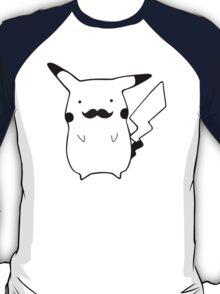 Moustache Pikachu T-Shirt