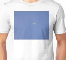 Bubbly Birds in Blue Sky Unisex T-Shirt