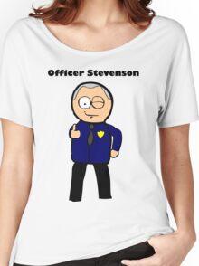 Officer Stevenson Women's Relaxed Fit T-Shirt