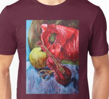 'Cutting Strings' Painting by Rebecca Unisex T-Shirt