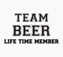 Team BEER, life time member Kids Clothes