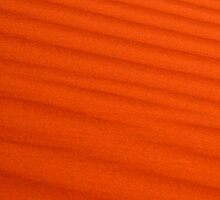 Red Sand Ripples by Citisurfer